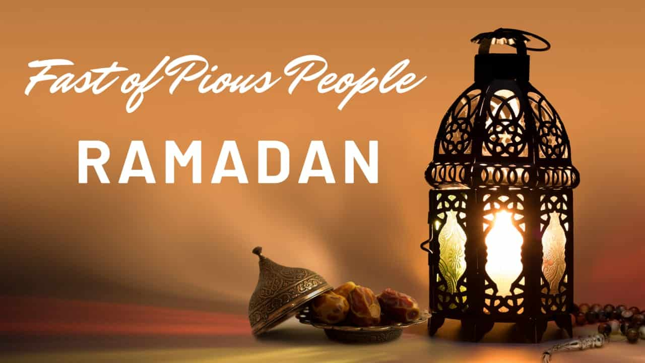 fasts of pious people