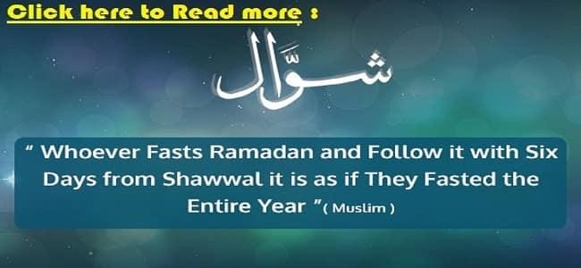 fast of shawal